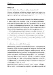 Dialogische Ethik im Blick auf Menschenwürde und heutige Arztethik
