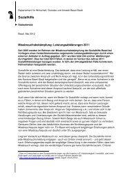 Missbrauchsbekämpfung: Jahresbericht ... - Sozialhilfe