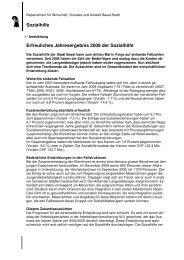 Stellungnahme zum Jahresabschluss 2008 - Sozialhilfe - Basel-Stadt