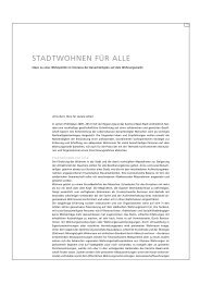 STADTWOHNEN FÜR ALLE - Sozialhilfe - Kanton Basel-Stadt