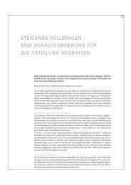 steigende fallzahlen - Sozialhilfe - Kanton Basel-Stadt