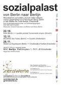 22.10., Za, illute (Berlin) ++ puddle parade ... - Sozialpalast - Page 2