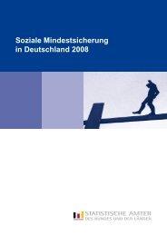Soziale Mindestsicherung in Deutschland 2008 - Statistisches ...
