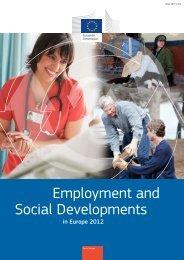 Employment and Social Developments - Sozialpolitik aktuell
