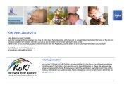 finden Sie den aktuellen Newsletter der KoKi - Sozialportal Ostallgäu