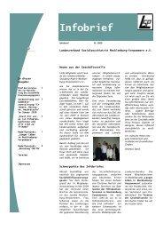 Infobrief - Sozialpsychiatrie Mecklenburg Vorpommern