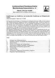 Empfehlungen zur inhaltlichen und strukturellen Gestaltung von ...