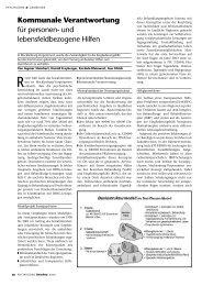 Kommunale Verantwortung für personen - Sozialpsychiatrie ...
