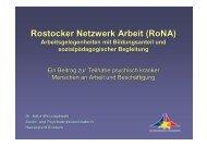 Rostocker Netzwerk Arbeit (RoNA)