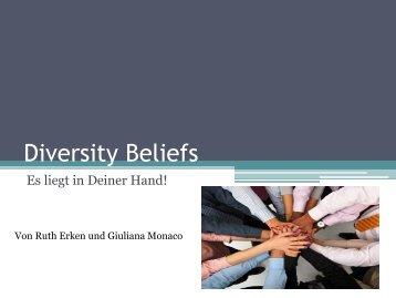 Diversity Beliefs - Sozialpsychologie