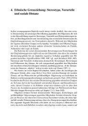 4. Ethnische Grenzziehung: Stereotype, Vorurteile und ... - Springer