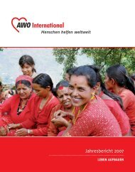 Jahresbericht 2007 - Arbeitsgemeinschaft Sozialstruktur