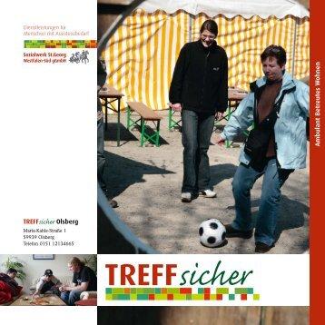 TREFFsicher Olsberg - Sozialwerk St. Georg