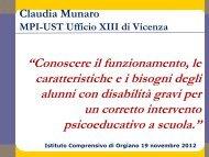 Presentazione di Munaro Claudia