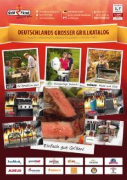 Grill Fürst Katalog - Deutschlands großer Grillkatalog 2012