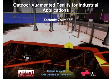 Outdoor Augmented Reality for Industrial Applications - Institute for ...
