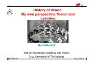 Slides - Institute for Computer Graphics and Vision - Graz University ...