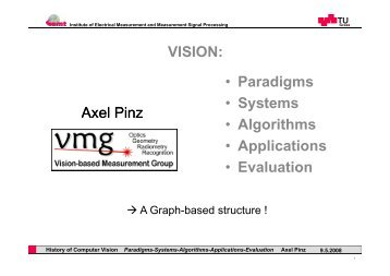 Slides - Institute for Computer Graphics and Vision