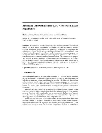 Automatic Differentiation for GPU-Accelerated 2D/3D Registration