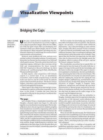 Bridging the Gaps - IEEE Xplore