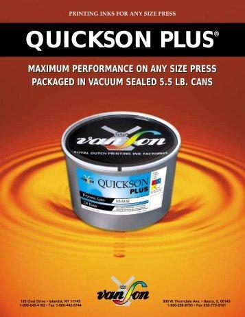 quickson plus - Proveedora de las artes graficas