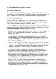 Redebeiträge - beim Sozialwerk der Inneren Verwaltung des ...