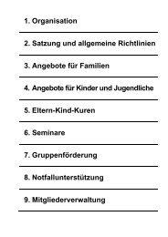 1. Organisation - beim Sozialwerk der Inneren Verwaltung des ...