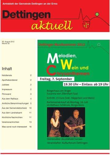 Sternenallee AkustikFolkChanson Gemeinde Bürgerhaus am Anger ...