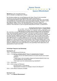 Programm - Universität Hamburg