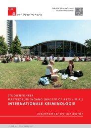 Studienführer - Fachbereich Sozialwissenschaften - Universität ...