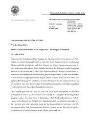 Dörre - Institut für Soziologie - Friedrich-Schiller-Universität Jena