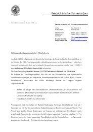 BAföG-Amt Jena-Weimar - Institut für Soziologie - Friedrich-Schiller ...