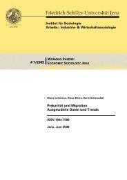Kostenloser Download - Institut für Soziologie - Friedrich-Schiller ...