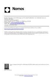 Soziale Integration und Erfahrungen mit Fremdenfeindlichkeit von ...