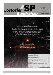 Rundschau 155_3 - SP Lostorf