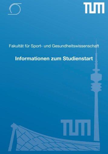 Fakultät für Sport - Technische Universität München