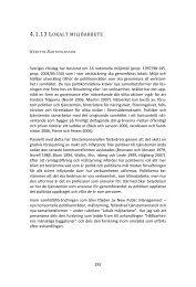 Lokalt miljöarbete - Förvaltningshögskolan - Göteborgs universitet