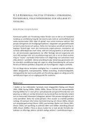 Kommunal politisk styrning i förändring - Göteborgs universitet