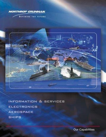 Northrop Grumman Capabilities Brochure - Space-Library
