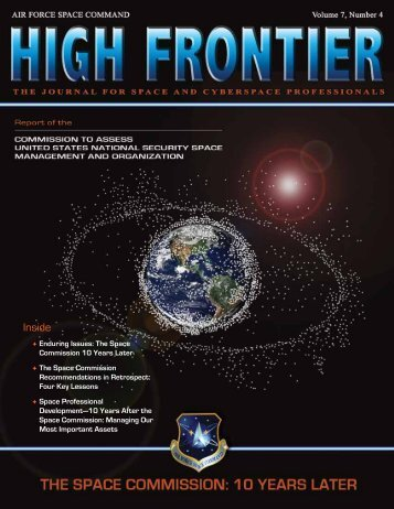 High Frontier Journal - Air Force Space Command