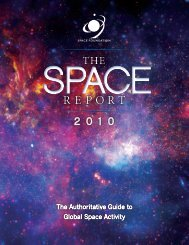 The Space Report 2010 - Executive Summary (Web) - Space-Library