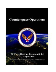 AFDD 2-2.1 Counterspace Operations