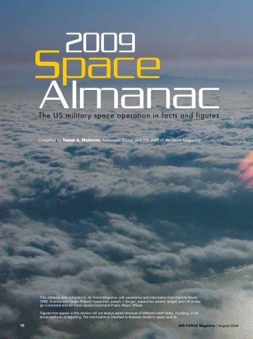 2009 Space Almanac - AirForceMag.com