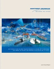 2006 - Northrop Grumman Corporation