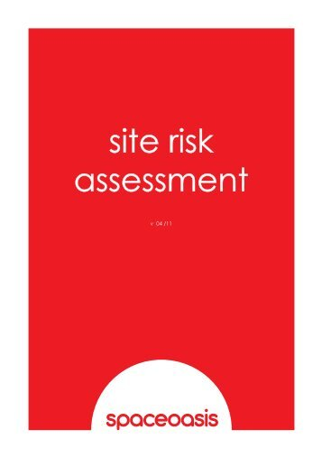 site risk assessment - Spaceoasis