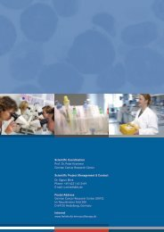 Scientific Coordination Prof. Dr. Peter Krammer German Cancer ...