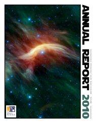 a n n u a l R e p o r t 2 010 - Space Science Institute