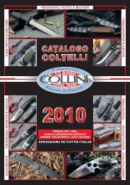 Catalogo coltelli 2010 - Spade elmi katana abiti