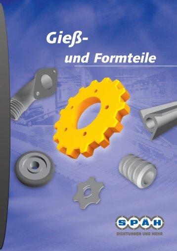 """Leistungsfeld """"Gieß- und Formteile"""" - spaeh.de"""