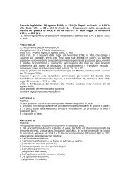 Decreto legislativo 28 agosto 2000, n. 274 (in Suppl. ordinario n ...